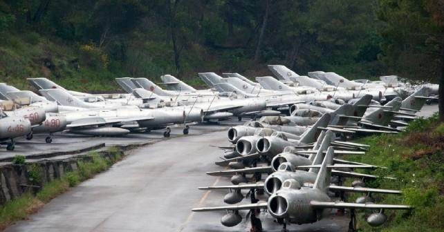 Letalska baza Kucove v Albaniji
