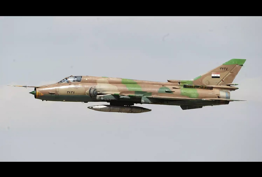 Sirsko letalo Su-22