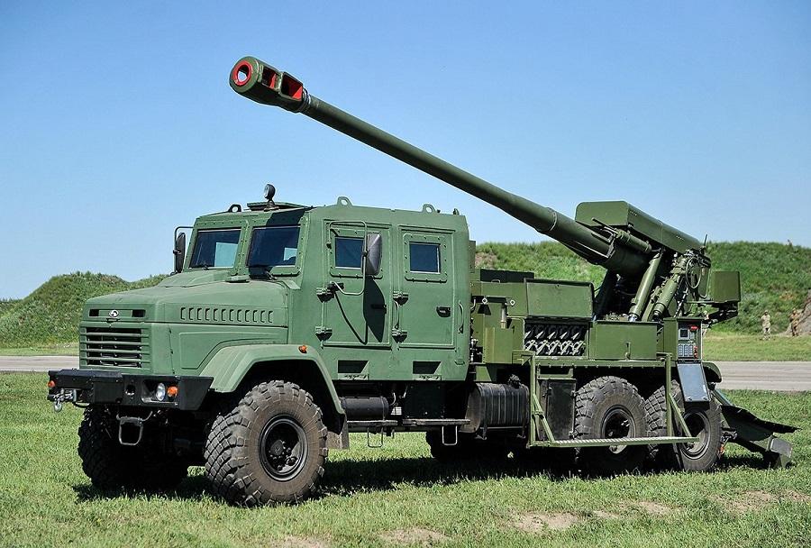 Ukrajinska samovozna havbica bohdana 155 mm