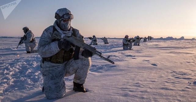 Zimsko urjenje pripadnikov Ruske nacionalne garde