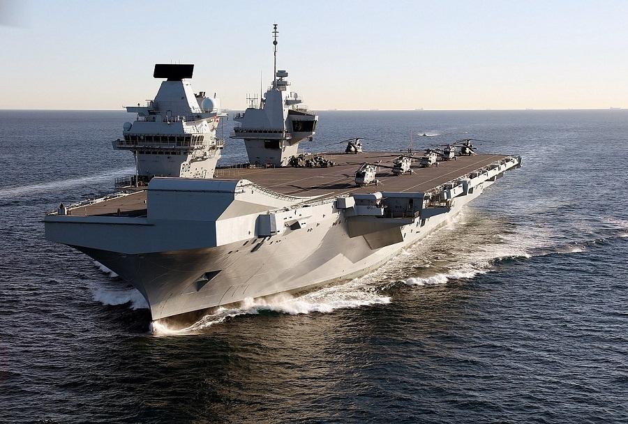 Britanska letalonosilka HMS Queen Elizabeth