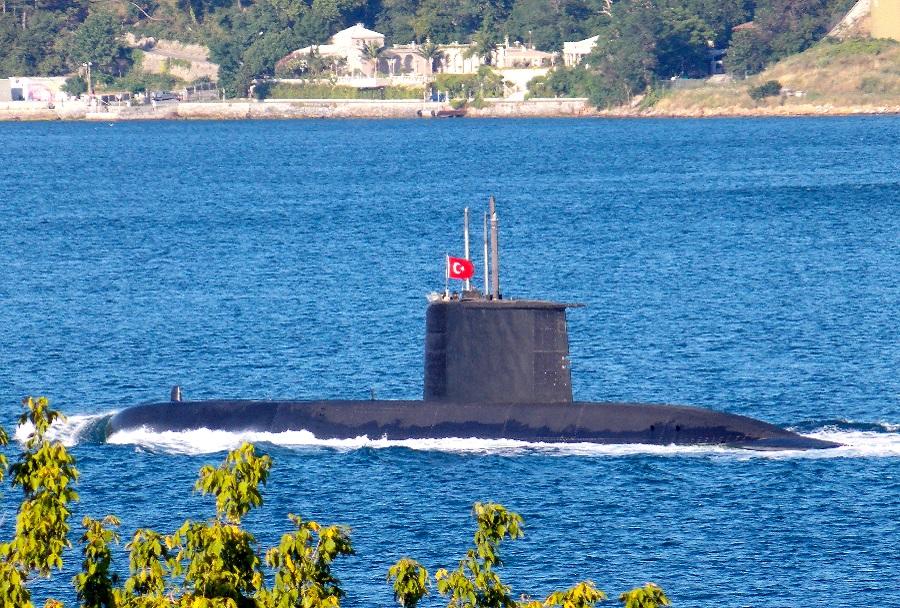 Podmornica Turške mornarice