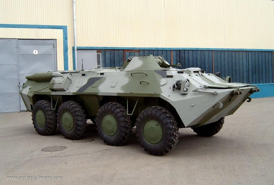 Oklepno vozilo BTR-70