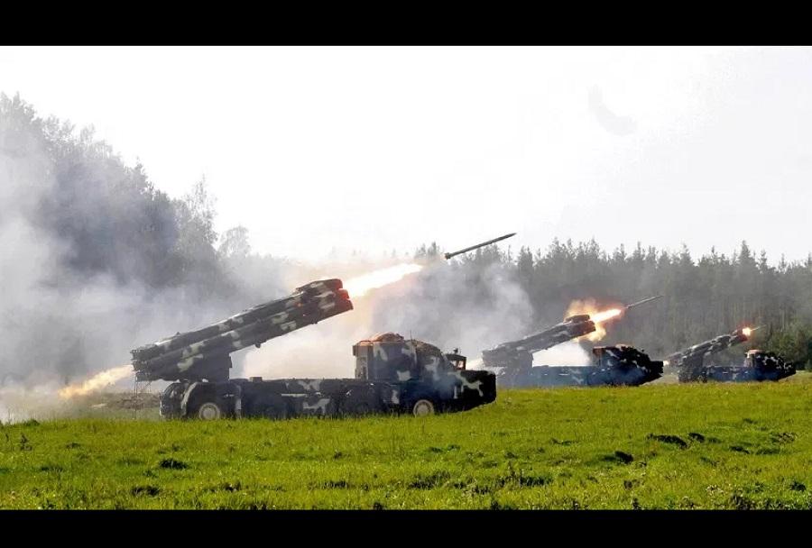 Ruska vojaška vaja Vostok-2018