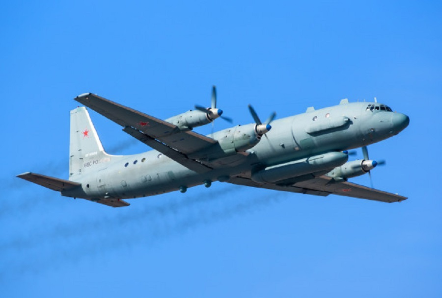 Rusko vojaško transportno letalo Il-20