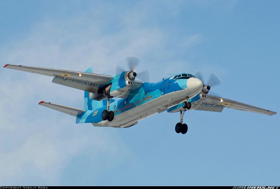 Ukrajinsko mornariško letalo An-26