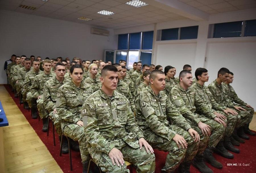 Nove uniforme Črnogorske vojske