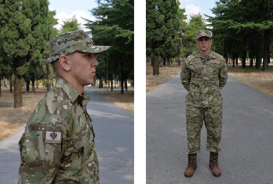 Nova uniforma Črnogorske vojske