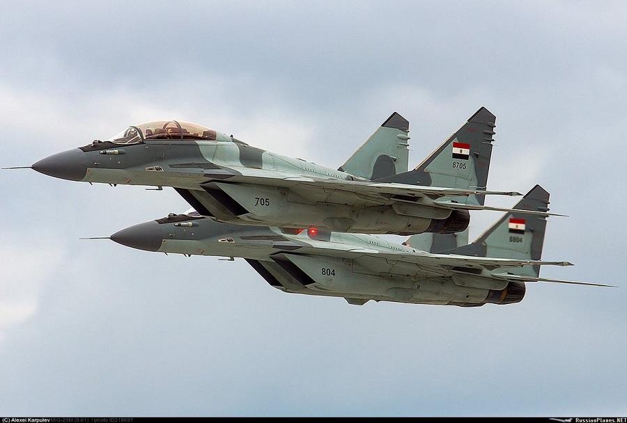 Egiptovski par lovcev MiG-29M/M2
