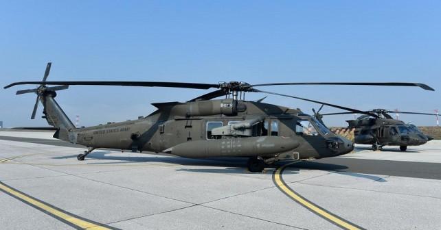 Predstavitev novih hrvaških helikopterjev UH-60M black hawk