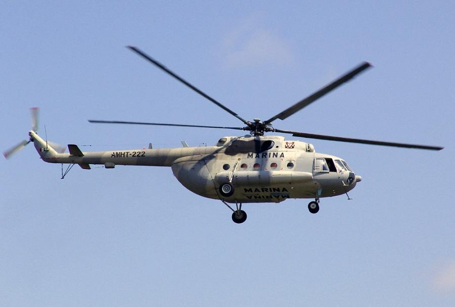 Helikopter Mi-17 Mehiške mornarice