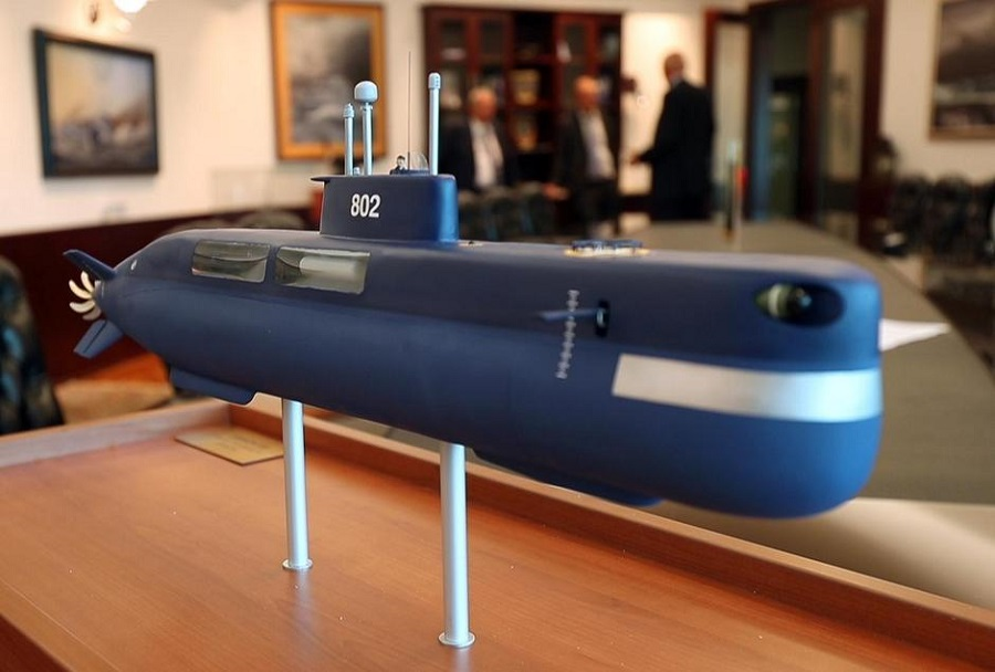 Projekt nove hrvaške podmornice drakon 220