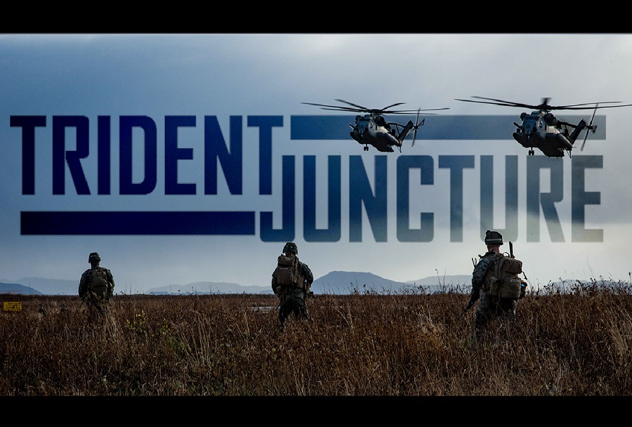 Natova vaja Trident Juncture 18 na Norveškem