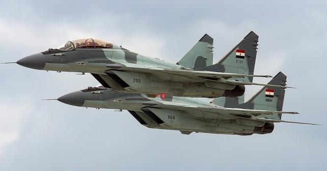 Egiptovska lovca MiG-29M/M2