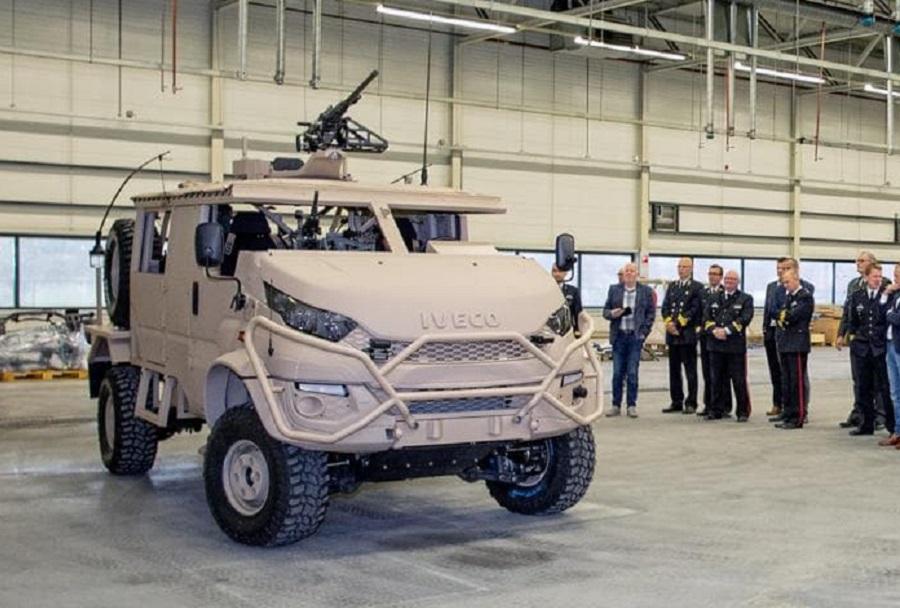 Nizozemsko taktično vozilo DMV anaconda 4×4