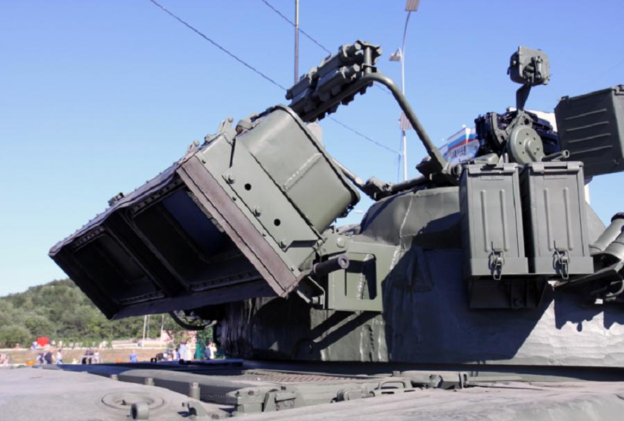 Zajemnika zraka za turbinski motor ruskih tankov