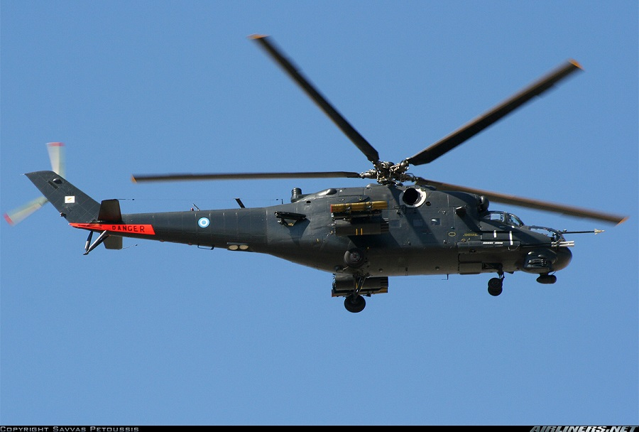 Ciprski helikopter Mi-35