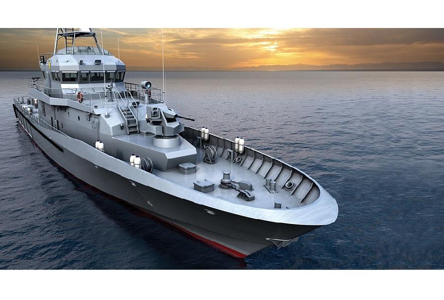 Hrvaška patruljna ladja OOB-31 Omiš