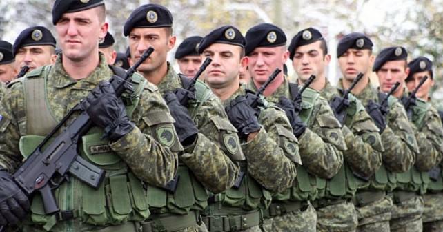 Pripadniki Kosovski varnostnih sil