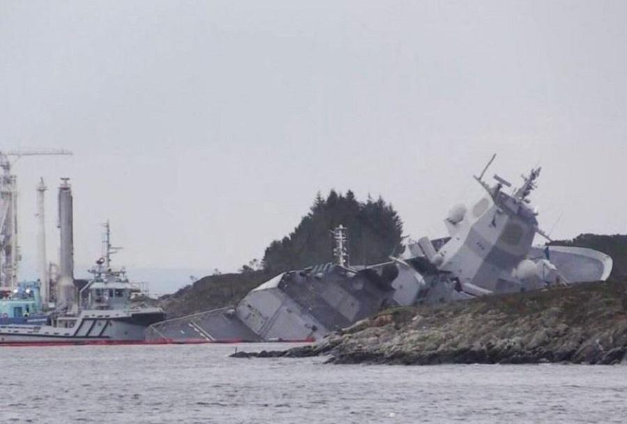 Nesreča norveške fregate HNoMS Helge Ingstad