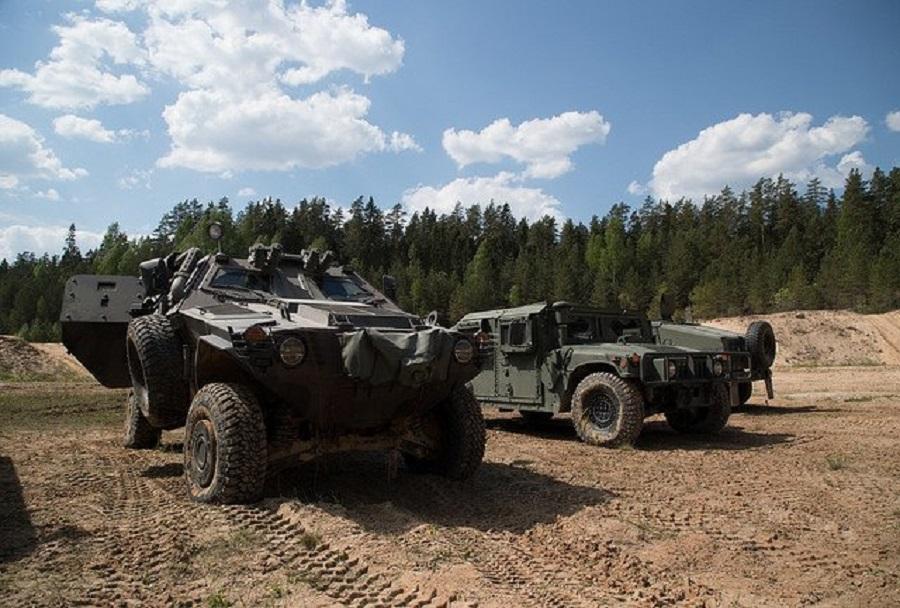 Kobra II in HMMWV