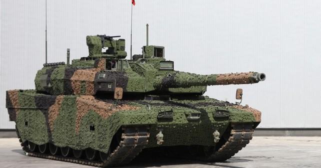 Turški tank altay-T1