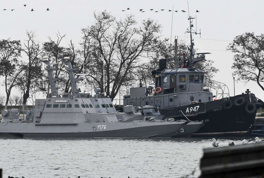 Zasežena plovila Ukrajinske vojne mornarice