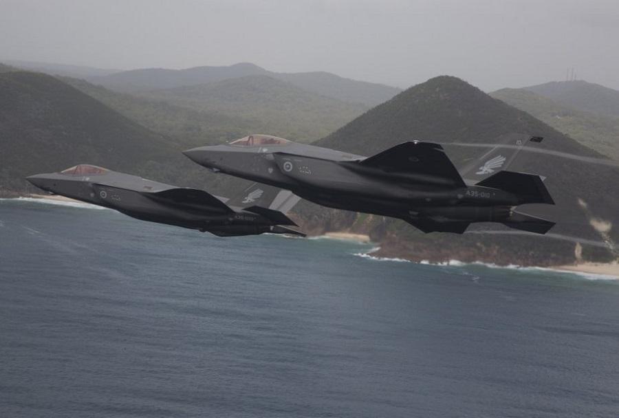 Avstralska lovca F-35