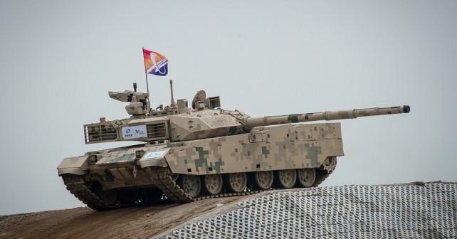 Kitajski tank VT-4 (MBT-3000)