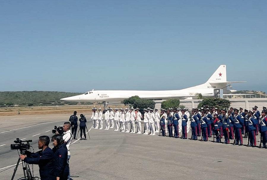 Tu-160 v Venezueli