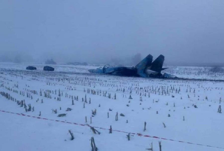 Nesreča ukrajinskega lovca Su-27