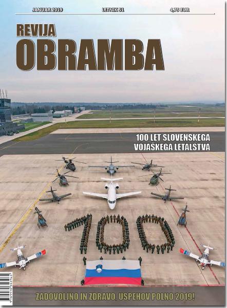 Revija Obramba, januar 2019