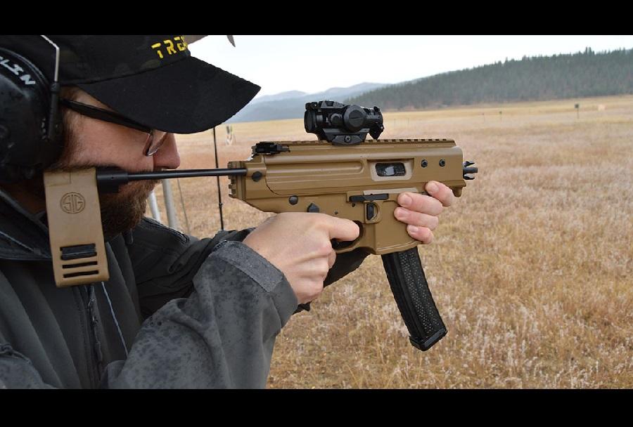 Streljanje z brzostrelko MPX copperhead