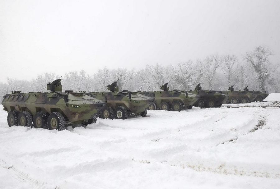 Srbska oklepna bojna vozila lazar 3