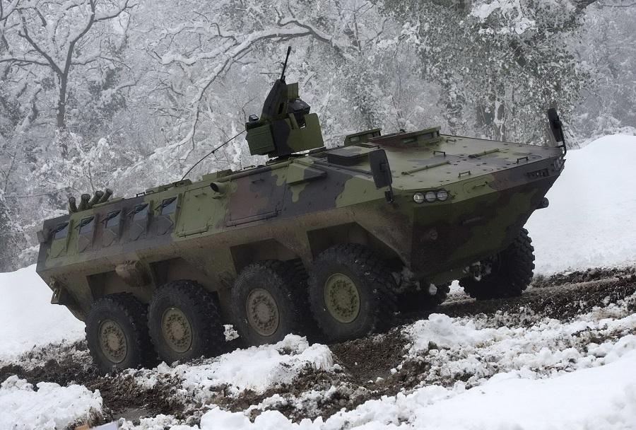 Srbsko oklepno bojno vozilo lazar 3