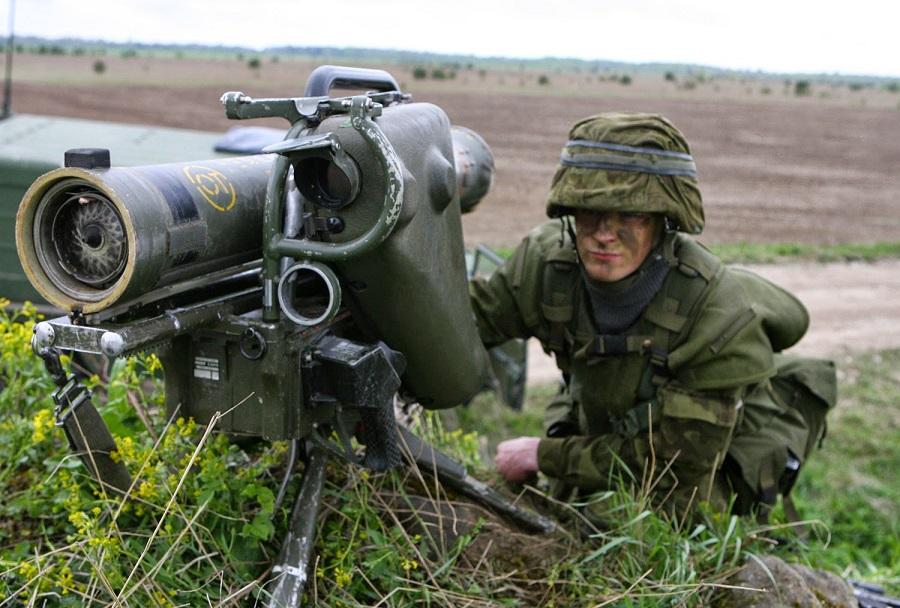 Francoski protitankovski sistem MILAN ATGM
