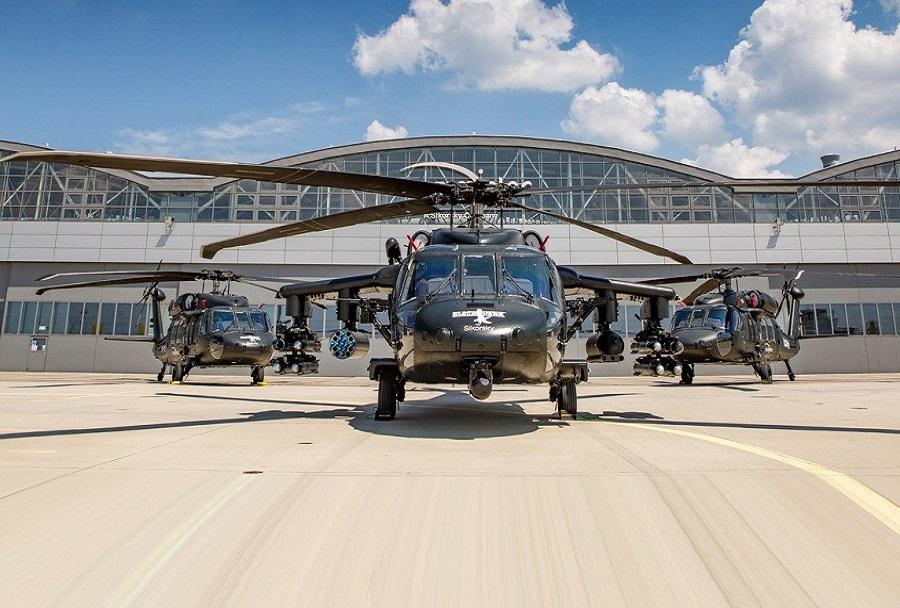 Helikopterji S-70i black hawk iz poljske tovarne PZL Mielec