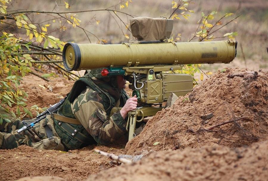 Ruski protitankovski raketni sistem 9M113 konkurs