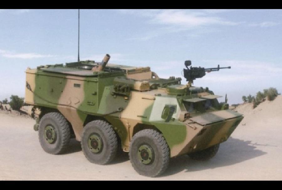 Kitajski samovozni minomet SM4 120mm 6x6