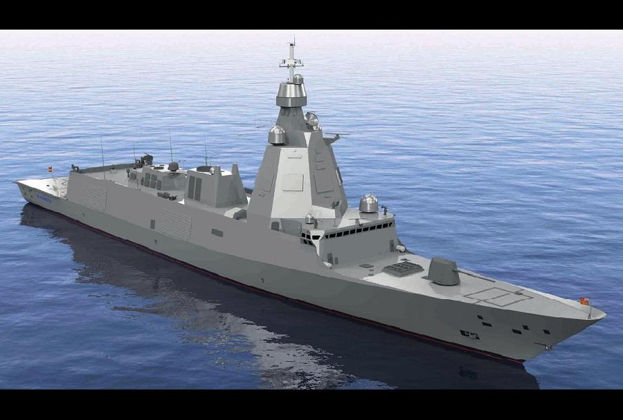 Španska fregata razreda F-110 - koncept