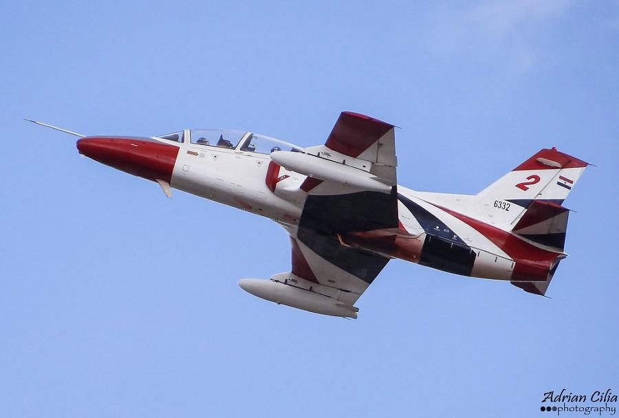 Egiptovsko trenažno letalo K-8 karakorum