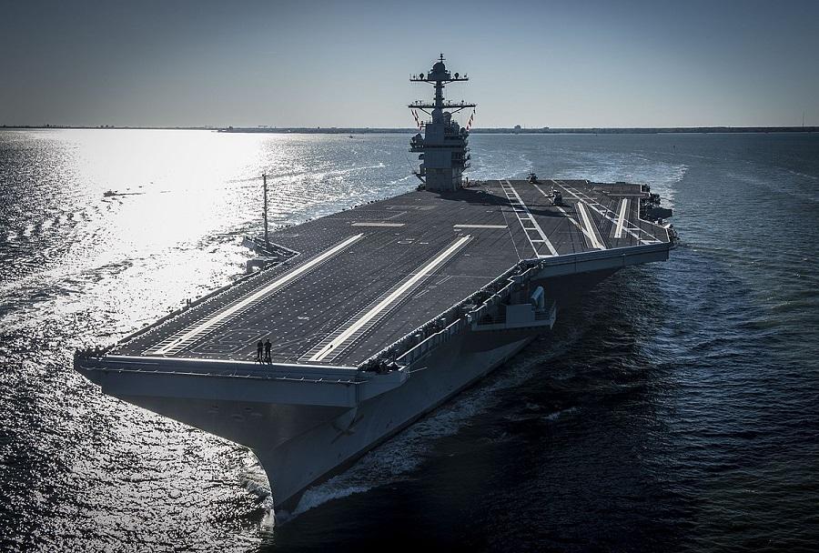 Ameriška letalonosilka USS Gerald R. Ford (CVN-78)