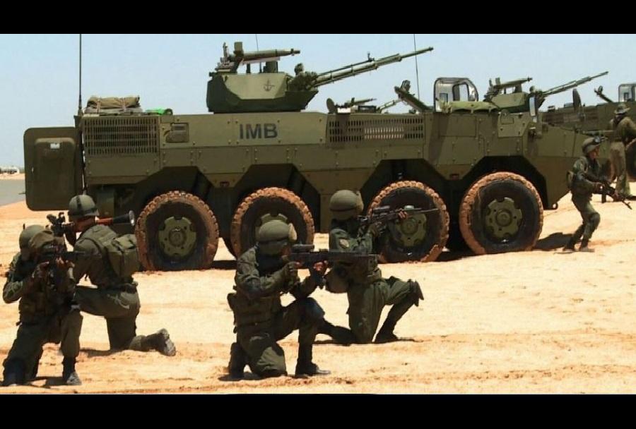 Oklepnik VN-1 v oborožitvi Tajske vojske