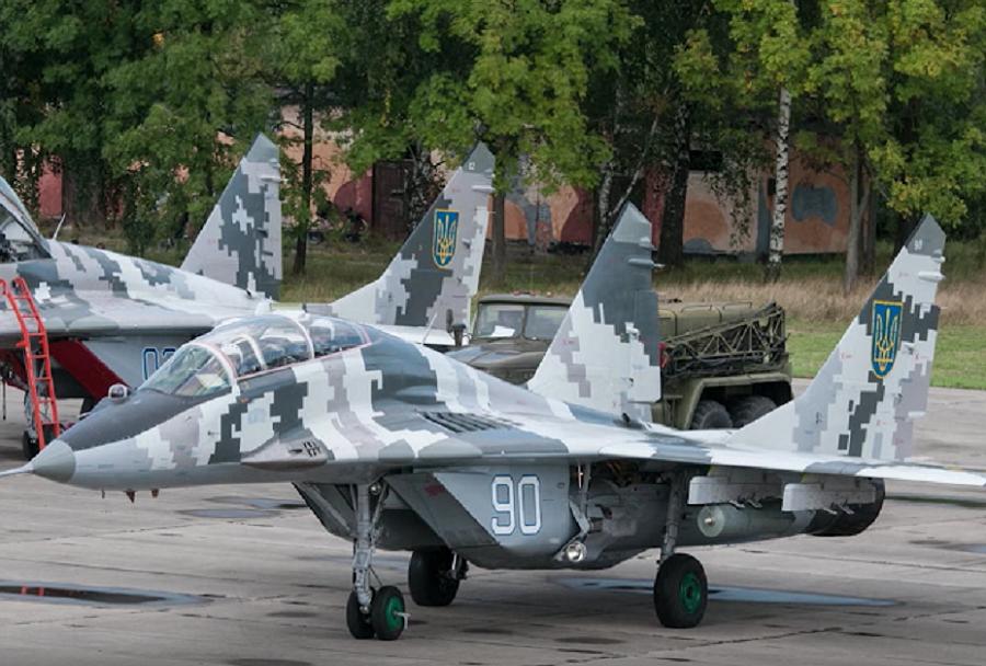 Ukrajinski lovec MiG-29