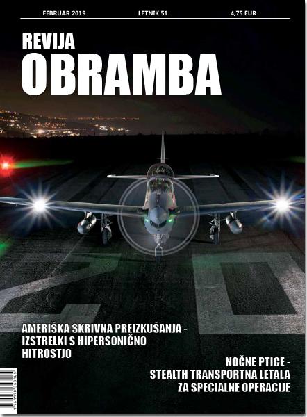 Revija Obramba, februar 2019