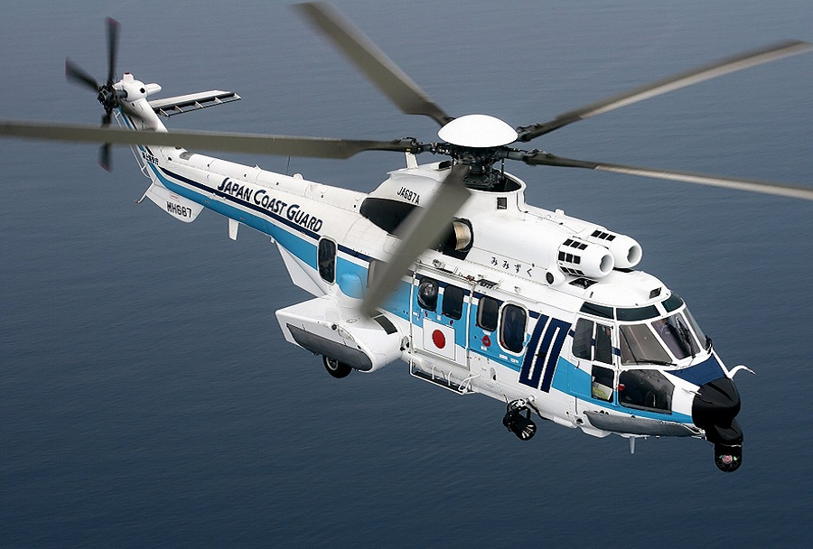 Japonska obalna straža - helikopter H225