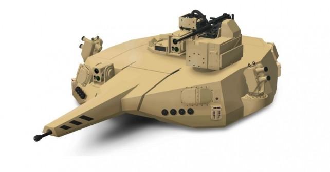 Modularna kupola T2000 za orožje srednjega kalibra