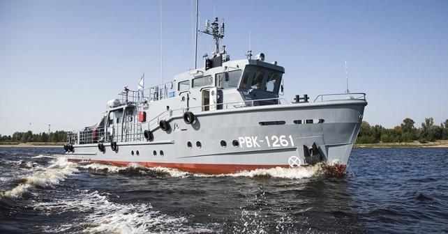 Ruski reševalni čoln - projekt 23040