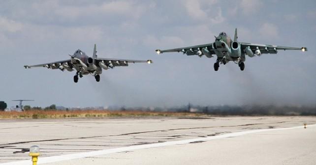Ruski par jurišnih letal Su-25