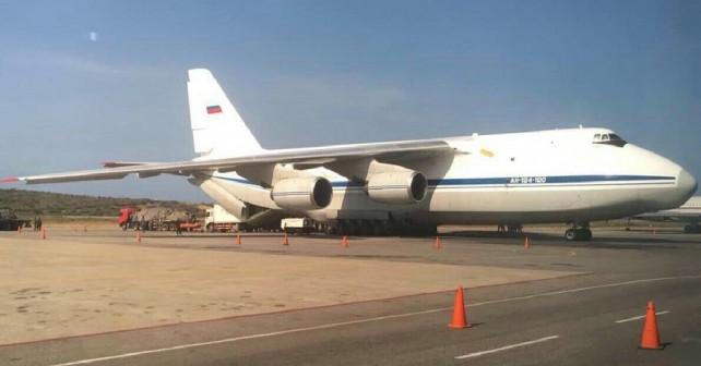 Rusko letalo An-124 v Venezueli
